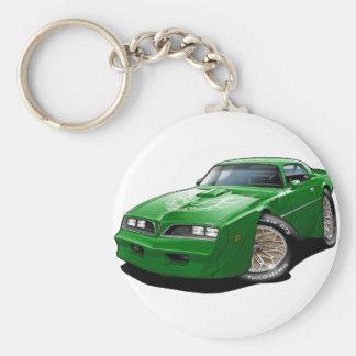 1977- 78 Trans Am Green Car Keychain