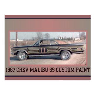 1977 CHEV SS 2 POSTCARD