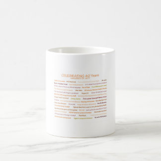 1977 Memories 40th Birthday Mug