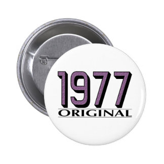 1977 Original Pinback Button