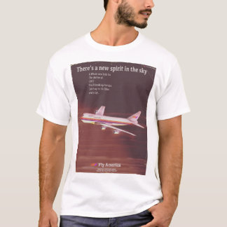 1977 vintage style Airliner poster T-Shirt