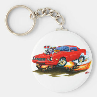 1979-81 Camaro Red Car Keychain