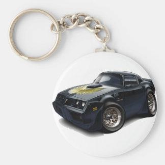 1979-81 Trans Am Black Car Keychain
