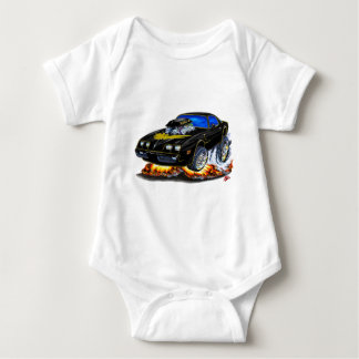 1979-81 Trans Am Black-Gold Car Baby Bodysuit