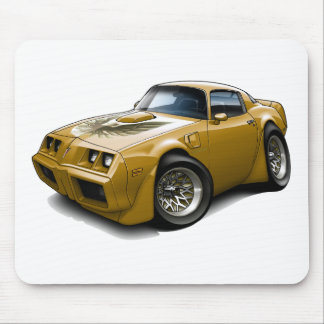 1979-81 Trans Am Gold Car Mouse Pad