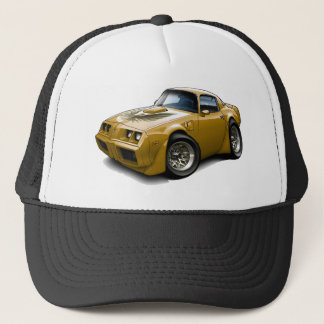 1979-81 Trans Am Gold Car Trucker Hat