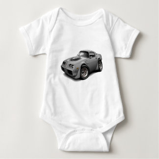 1979-81 Trans Am Grey Car Baby Bodysuit