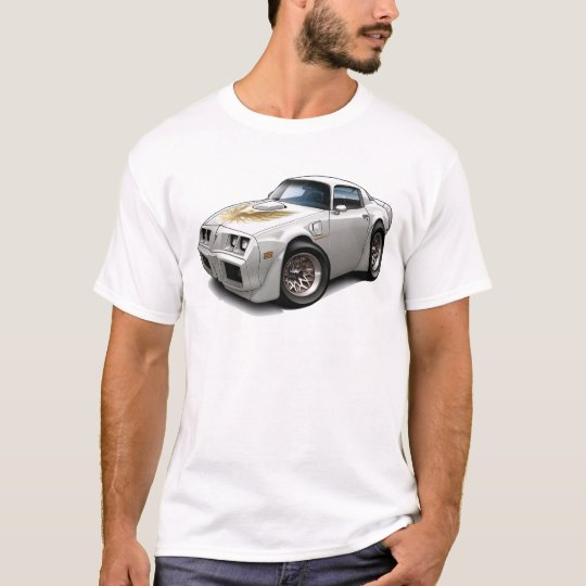 1979-81 Trans Am White Car T-Shirt