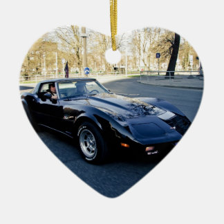 1979 Corvette Classic Sportscar Ceramic Ornament
