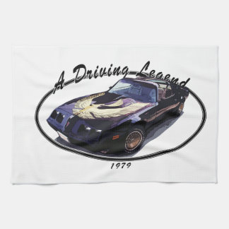 1979_firebird_black01 kitchen towel