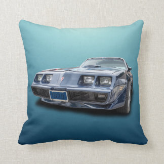 1979 PONTIAC FIREBIRD TRANS AM THROW PILLOW