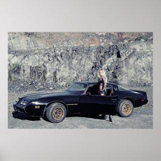 1979 Pontiac Trans Am 6.6 Liter V8 Poster