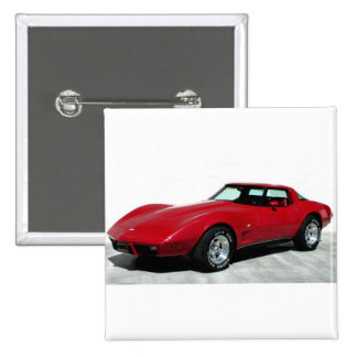 1979 Red Classic Car Pins