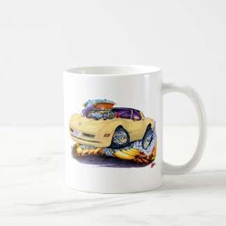 1980-82 Corvette Tan Car Coffee Mug