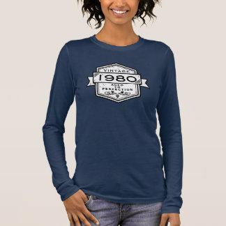 1980 Aged To Perfection Clothing Long Sleeve T-Shirt