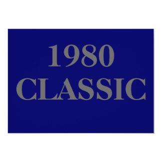 1980, CLASSIC CARD