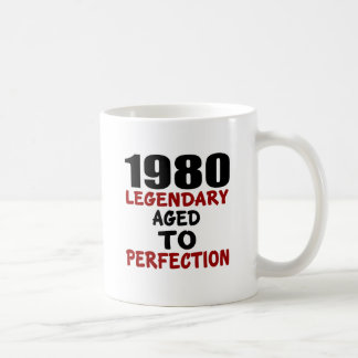 1980 LEGENDARY AGED TO PERFECTION COFFEE MUG