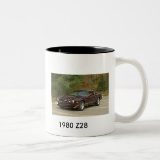 1980 Z28 Two-Tone COFFEE MUG