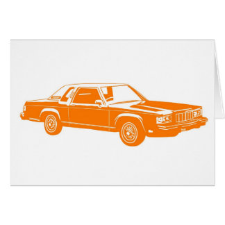 1980's American cars Card