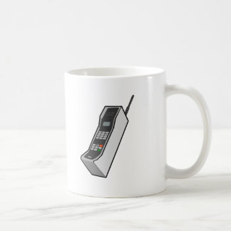 1980s Cellphone Classic White Coffee Mug