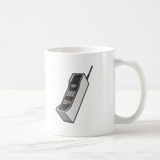 1980s Cellphone Coffee Mugs