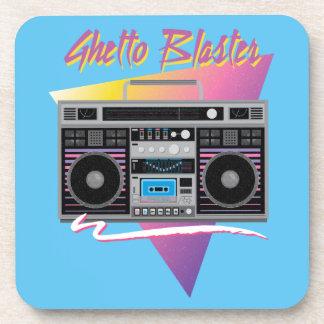 1980s ghetto blaster boombox coaster