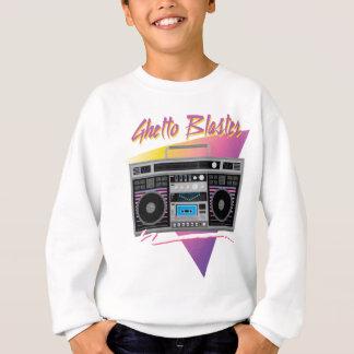 1980s ghetto blaster boombox sweatshirt