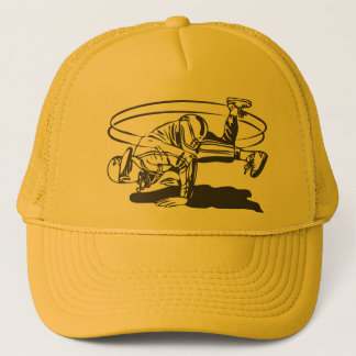 1980's Hip Hop Old School Breakdancing Trucker Hat