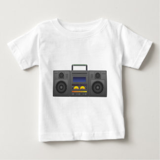1980's Hip Hop Style Boombox Baby T-Shirt