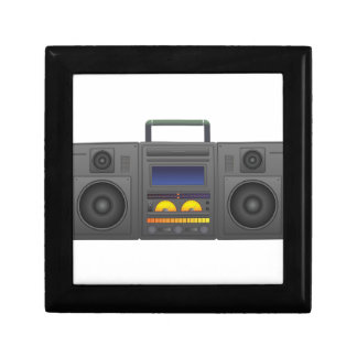 1980's Hip Hop Style Boombox Jewelry Boxes