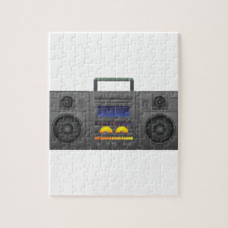1980's Hip Hop Style Boombox Jigsaw Puzzle