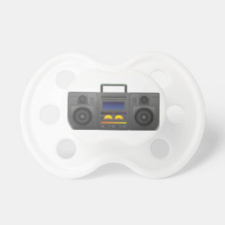 1980's Hip Hop Style Boombox Pacifier