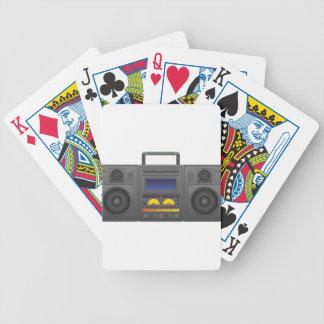 1980's Hip Hop Style Boombox Poker Deck