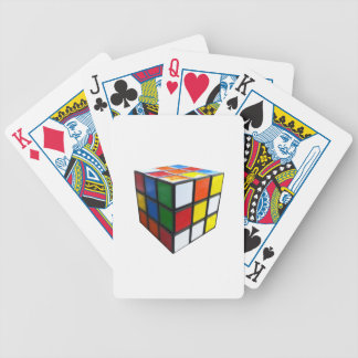 1980's Puzzle Cube Bicycle Playing Cards