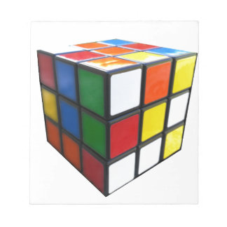 1980's Puzzle Cube Notepad