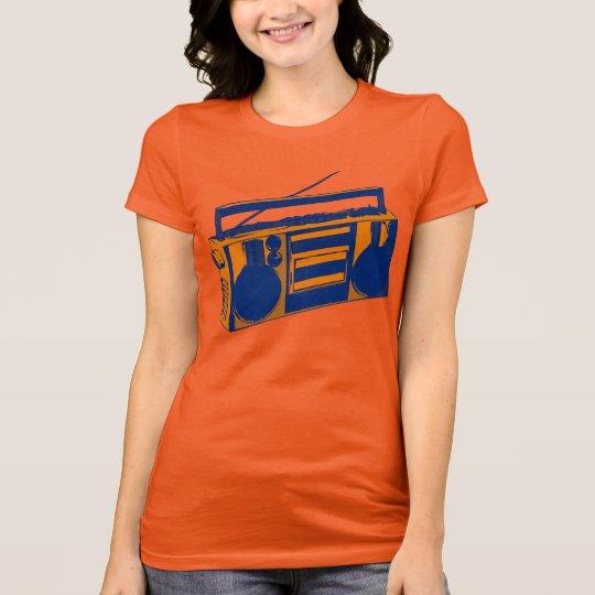 1980s Retro Boombox T-Shirt