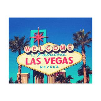 1980s Retro Welcome to Fabulous Las Vegas sign