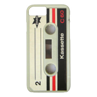 1980s Vintage geeky Retro cassette iPhone 7 case