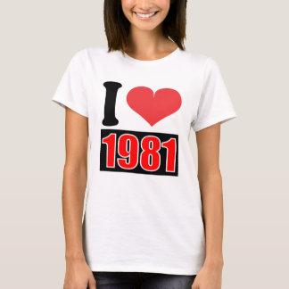 1981 - T-Shirt