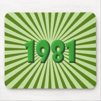 1981 TAPIS DE SOURIS