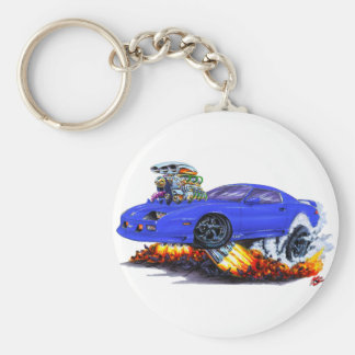 1982-92 Camaro Blue Car Keychain