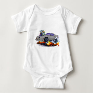 1982-92 Camaro Grey Car Baby Bodysuit