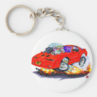1982-92 Trans Am Red Car Keychain