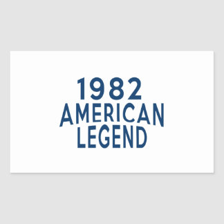 1982 American Legend Birthday Designs