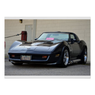 1982 C3 Corvette Poster