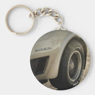 1982 Chevrolet Corvette Collector's Edition Wheel Keychain