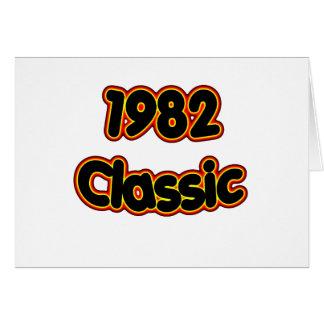 1982 Classic Card