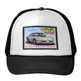 1982 Collector Edition Hatchback Corvette Mesh Hats