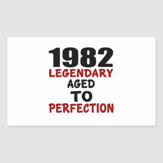 1982 LEGENDARY AGED TO PERFECTION