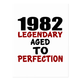 1982 LEGENDARY AGED TO PERFECTION POSTCARD